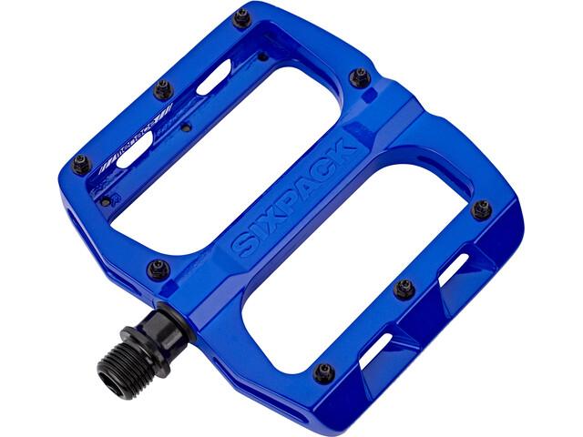 Sixpack Menace Pédales, blue